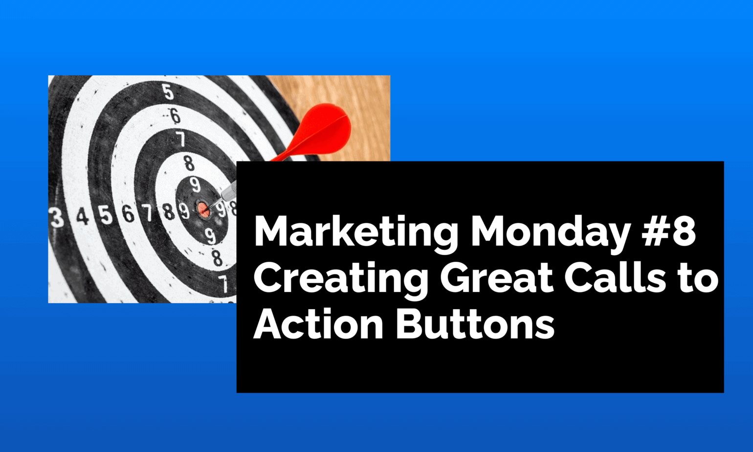 Creating Great Calls to Action Buttons