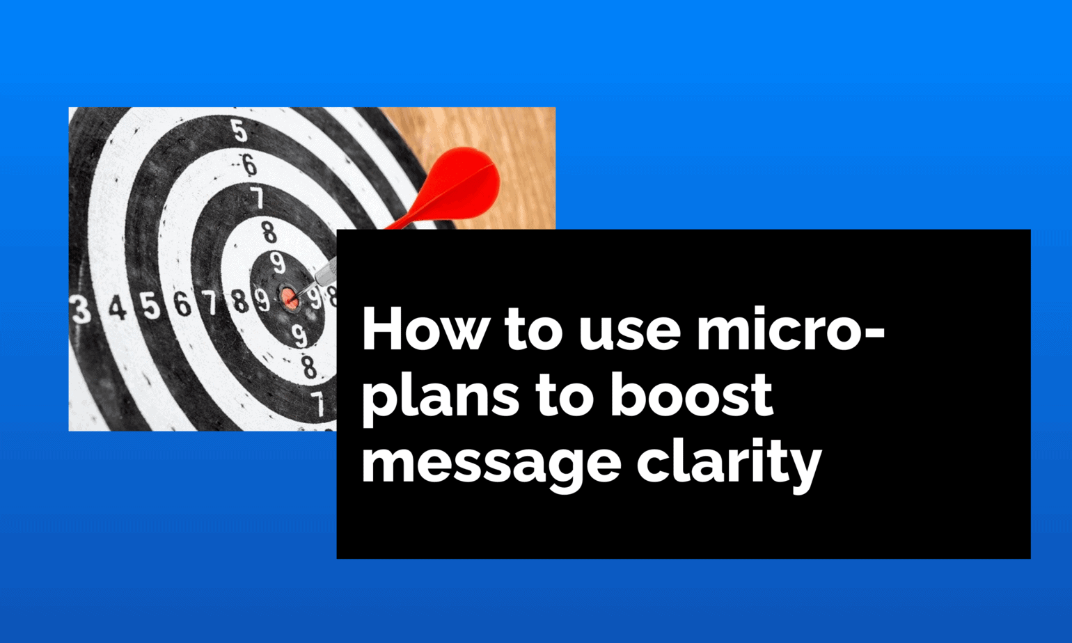 how to use microplans
